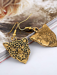 Drop Earrings Gold Statement Jewelry Gold Jewelry 2pcs
