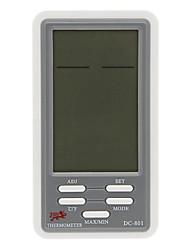 Digital Termo-higrômetro Medidor e Calendário DC-801