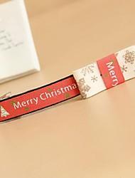 Ручной Солнечное утро Рождеством узор Красный хлопок сладкий Лолита Шпильки
