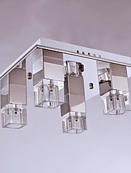 Ceiling Lamps , 4 Light , Crystal Artistic Stainless Steel Plating 98004-C-4A