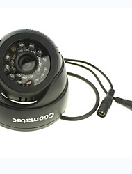 Coomatec Indoor 720P H.264 AV-OUT Micro SD Card CCTV Camera