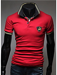 Casual Embrodiery Polo de Sameul hommes