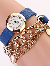 C&D Women Chain Rivet Bracelet Women dress watches XK-132