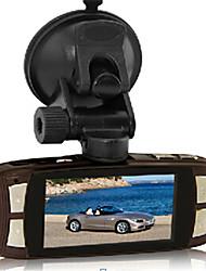 Caméra HD Car avec le cas de tréfilage en métal G-capteur Mega pixel 120 Angle de vue de DVR