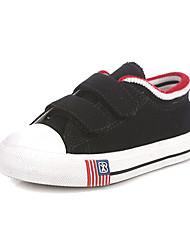 Talón plano de lona de los niños Confort Fashin Sneakers Shoes con cinta mágica (más colores)