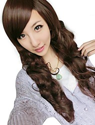 Women's Wavy Synthetic Side Bang Wigs