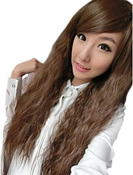 Girl Fashion Corn Curly Synthetic Side Bang Wigs