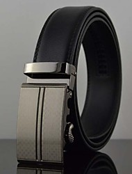 Men's Automatic Buckle Business Leather Belt