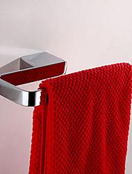 Argent Laiton 8,5 pouces x 4,5 pouces en forme de carré Crochet