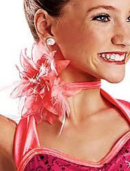 Prestazioni Feather Modern Dance Neck fiori / copricapo per i bambini