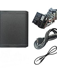USB SD 3,5 milímetros Aux In e Bluetooth opcional Adapter Car MP3 Player para 2003-2010 Ford Europa 5000C 6006C Rádio 6000CD