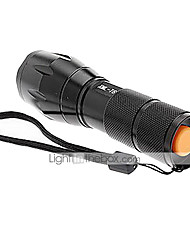 A100 LED Flashlights/Torch Handheld Flashlights/Torch Clips and Mounts LED 2000/1200/1600 Lumens 5 Mode Cree XM-L T6 1 x 18650 Battery