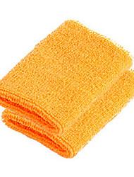 FJQXZ 10 * 7,6 cm Cotton + Spandex Atmungsaktives Schweißband orange - 1 PC
