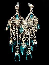Frozen Elsa Queen Gorgeous Water Drops Earrings Cosplay Accessory