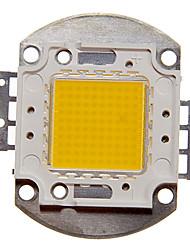 zdm ™ 100w haute puissance 8000-9000lm lumière blanche chaude diy intégré conduit module (32-35v)
