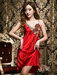 Women Satin & Silk Nightwear , Polyester