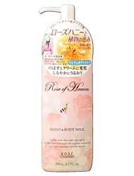 KOE167563 Kose Rose Of Heaven Hand And Body Milk 185ml / 6.3oz