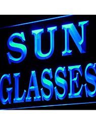 j213 Sun Glasses Shop Display Decor LED Light Sign
