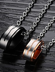 Pendant Necklaces Titanium Steel Wedding / Party / Daily / Casual Jewelry