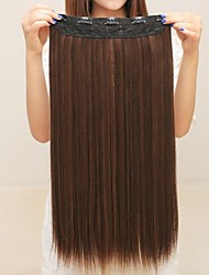 Hot Blast With Straight Clip Hair 20Inch 1Pc/Lot