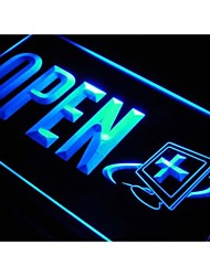 j758 OPEN Computer Repair Expert Shop Neon Light Sign