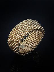 Wedding Gift  Yello Gold Plated   Ring