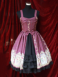 Sexy Goddess Sleeveless Open Front Gothic Lolita Dress