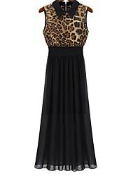 Women's Dresses , Chiffon Casual Cleopatra Dress