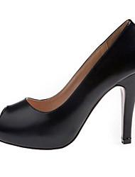 Red-Goust Frauen Sexy Peep Toe Heels Schuhe