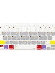 JCPAL ® Macbook Pro Keyboard Protector Scorciatoie silicone