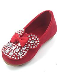 sapatos das meninas confortar mocassins de salto planas sapatos mais cores disponíveis