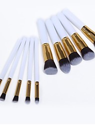 10PCS Makeup Brushes Cosméticos Sobrancelha Lip Eyeshadow Brushes Set