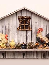 A roupa gancho de suspensão de frango Design Cena Fazenda