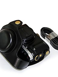 """""""Ever Ready"""" Protective Leather Camera Case Bag Cover for Pentax MX-1 MX1 Digital Camera"""