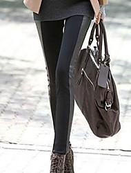 Women's Fashion European Super Sexy Skinny Slim Spliced Legging