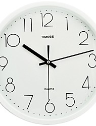 "Timess™ 12""H  Brief Style Raisde Scale Mute Wall Clock"