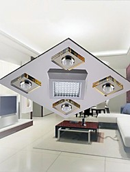 MAISHANG® Led Ceiling Lamps , 4 Light , Artistic Stainless Steel Plating MS-88004+1