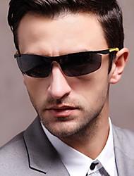 New Fashion Men's Aluminum-magnesium alloy Polarizer Sunglasses(Assorted Color)