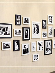 Black White Photo Frame Collection Set of 20