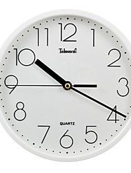 Telesonic™ Brief Style Raisde Scale Super Mute Wall Clock
