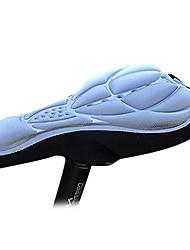 FJQXZ prateado 3D respirável Lycra Anti-skid Saddle Capa