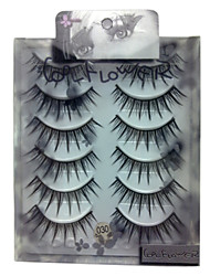 6 pairscoolflower false eyelashes 030#