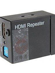 YuanBoTong 1-in-1-Out Full HD 1080p HDMI-Repeater mit Power EQ