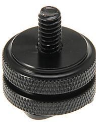 Durable noir 1/4 de cercle Hot Shoe pour Appareil photographique
