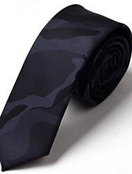 Faux lazos de seda de la manera para los hombres Bussiness ocio lazos con Camo 5cm corbata