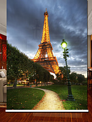 Euro Dreamlike Night Sence Eiffel Tower Roller Shade