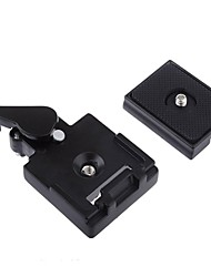 Quick Release Assembly and Sliding Plate Mount - Black