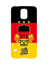 DDGD Creative 3D World Cup Theme Phone Case for Samsung Galaxy S5/ S3/ Note 2/ Note 3-SJB44#Gremany