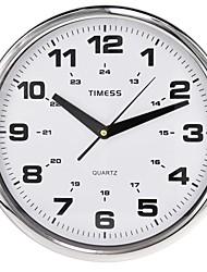 """Timess ™ 12 """"H Style 24 ore Scale muto eccellente Metallic Orologio da parete"""
