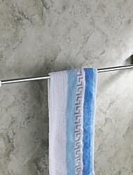 Modern Chrome Finish  24-Inch Brass  Towel Bar